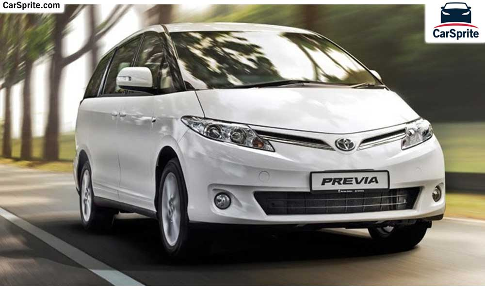 Toyota Previa 2017 Prices And Specifications In Saudi