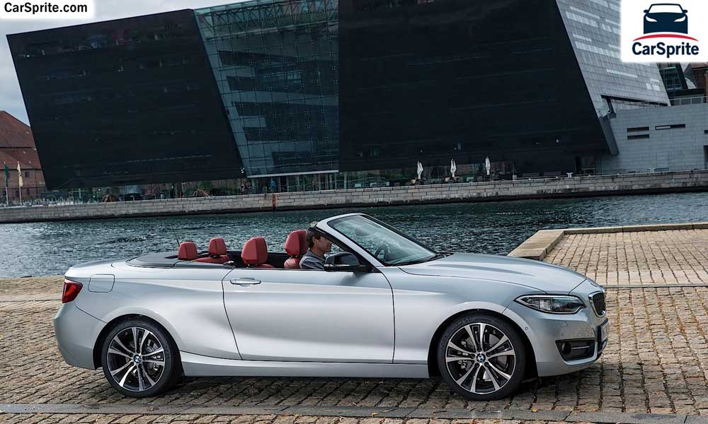 Bmw 2 series convertible 2017 prices and specifications in saudi arabia car sprite - Bmw 2 series coupe dimensions ...