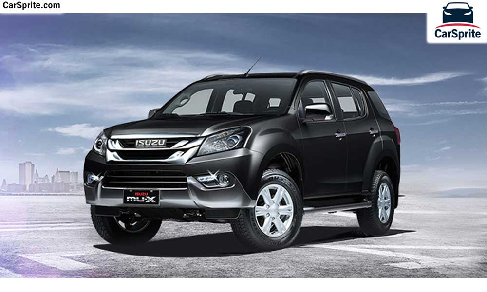 Isuzu MU-X 2017 prices and specifications in Saudi Arabia ...