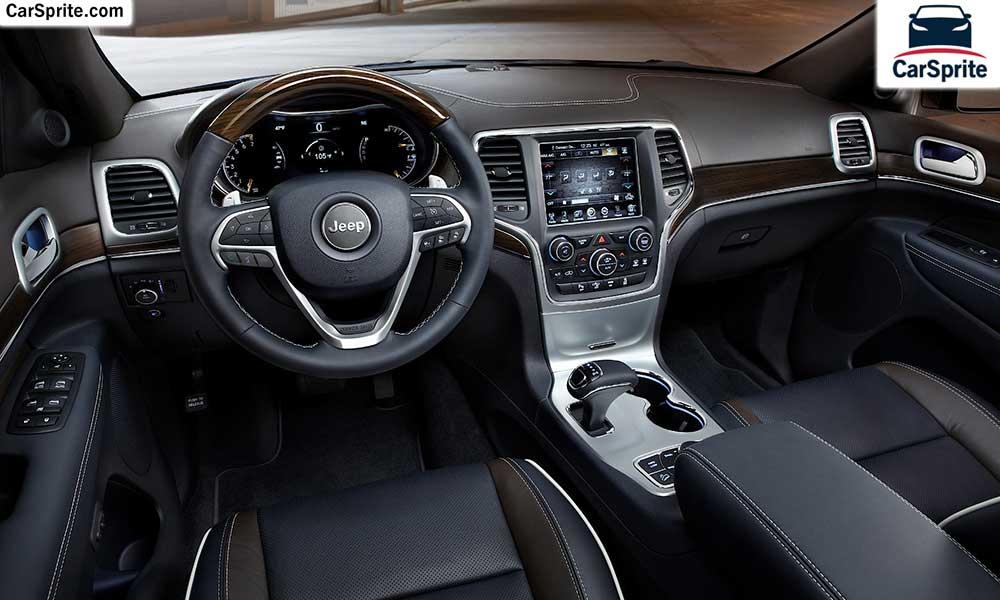 اسعار و مواصفات جيب جراند شيروكى 2018 فى السعودية | Car Sprite