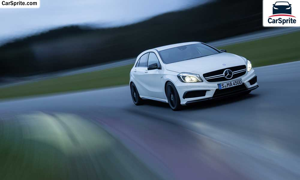Mercedes benz a 45 amg 2017 prices and specifications in for Mercedes benz saudi arabia
