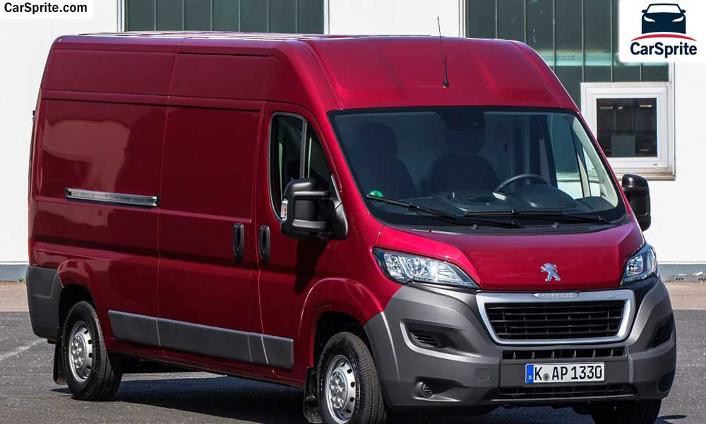 Peugeot Boxer 2018 prices and specifications in Saudi Arabia | Car Sprite