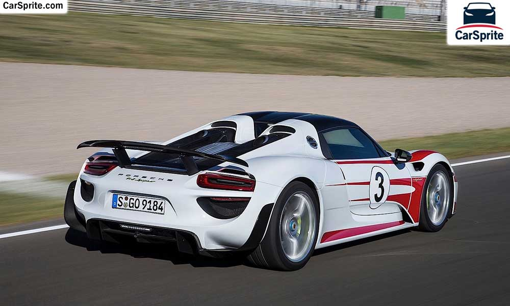 Porsche 918 Spyder 2019 prices and specifications in Saudi ...