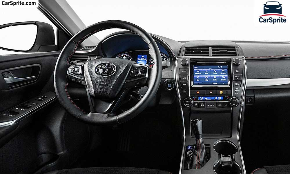 Toyota Camry 2018 prices and specifications in Saudi ...