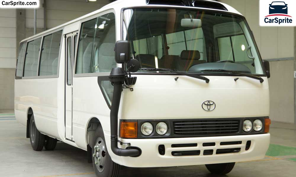 Toyota Coaster 2018 Prices And Specifications In Saudi