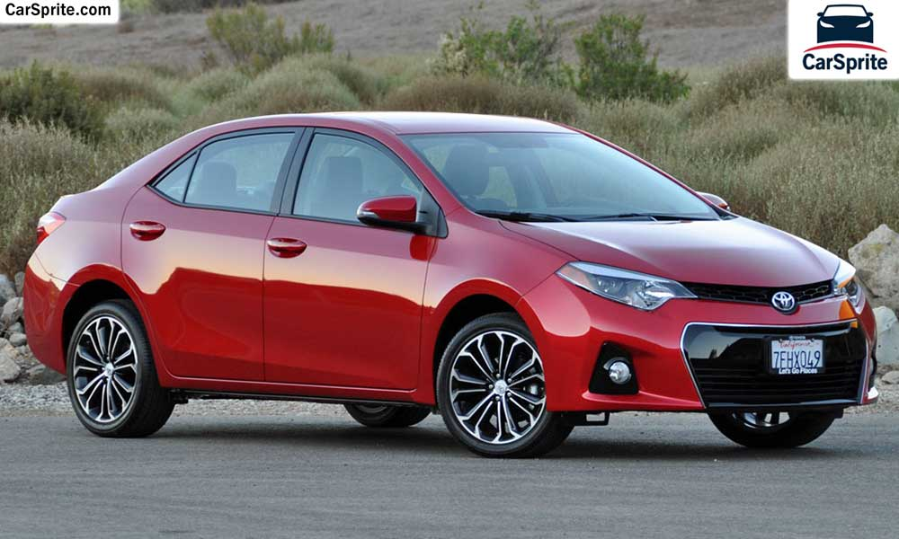 Toyota Corolla 2017 Prices And Specifications In Saudi