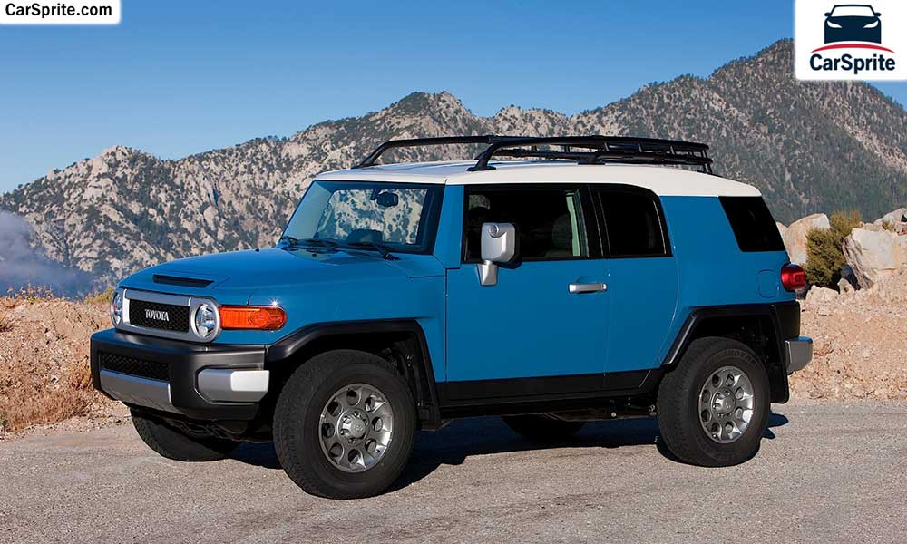 Toyota Fj Cruiser 2017 Prices And Specifications In Saudi