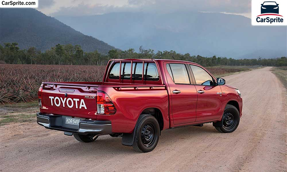Toyota Hilux 2019 prices and specifications in Saudi Arabia | Car Sprite