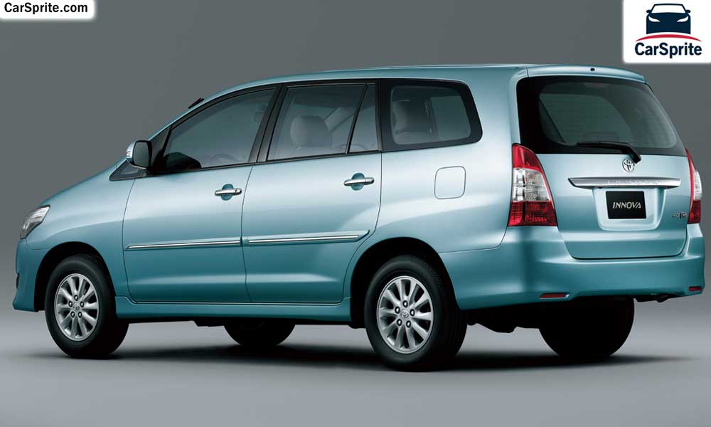 toyota innova  prices  specifications  saudi arabia car sprite