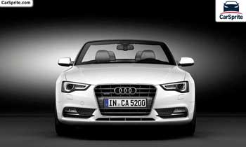 Audi A5 Cabriolet 2019 prices and specifications in Saudi Arabia | Car Sprite
