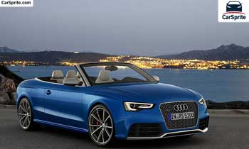 Audi RS5 Cabriolet 2019 prices and specifications in Saudi Arabia | Car Sprite