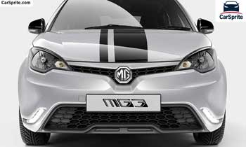 MG mg3 2017 prices and specifications in Saudi Arabia | Car Sprite